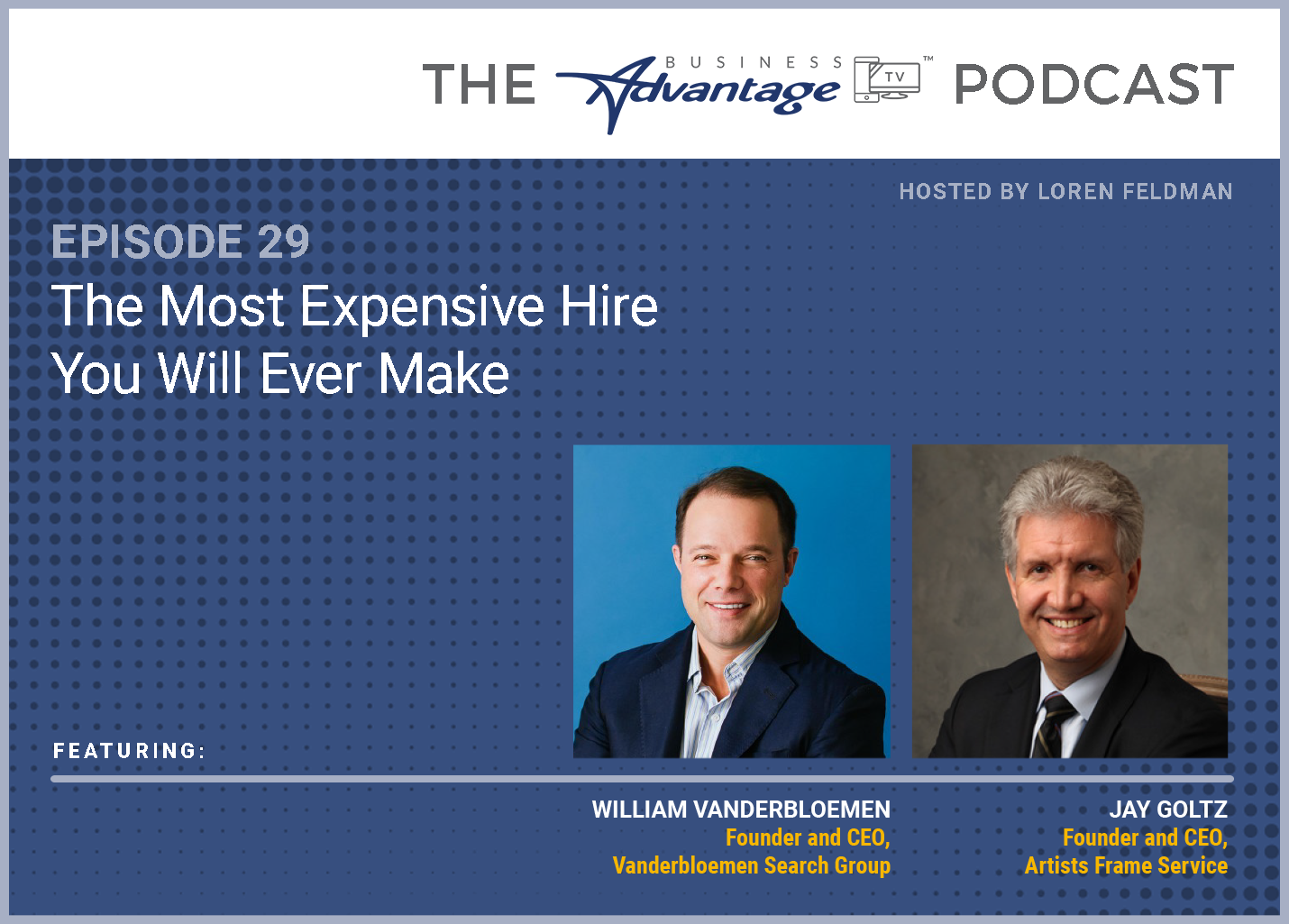 Episode 29: The Most Expensive Hire You Will Ever Make