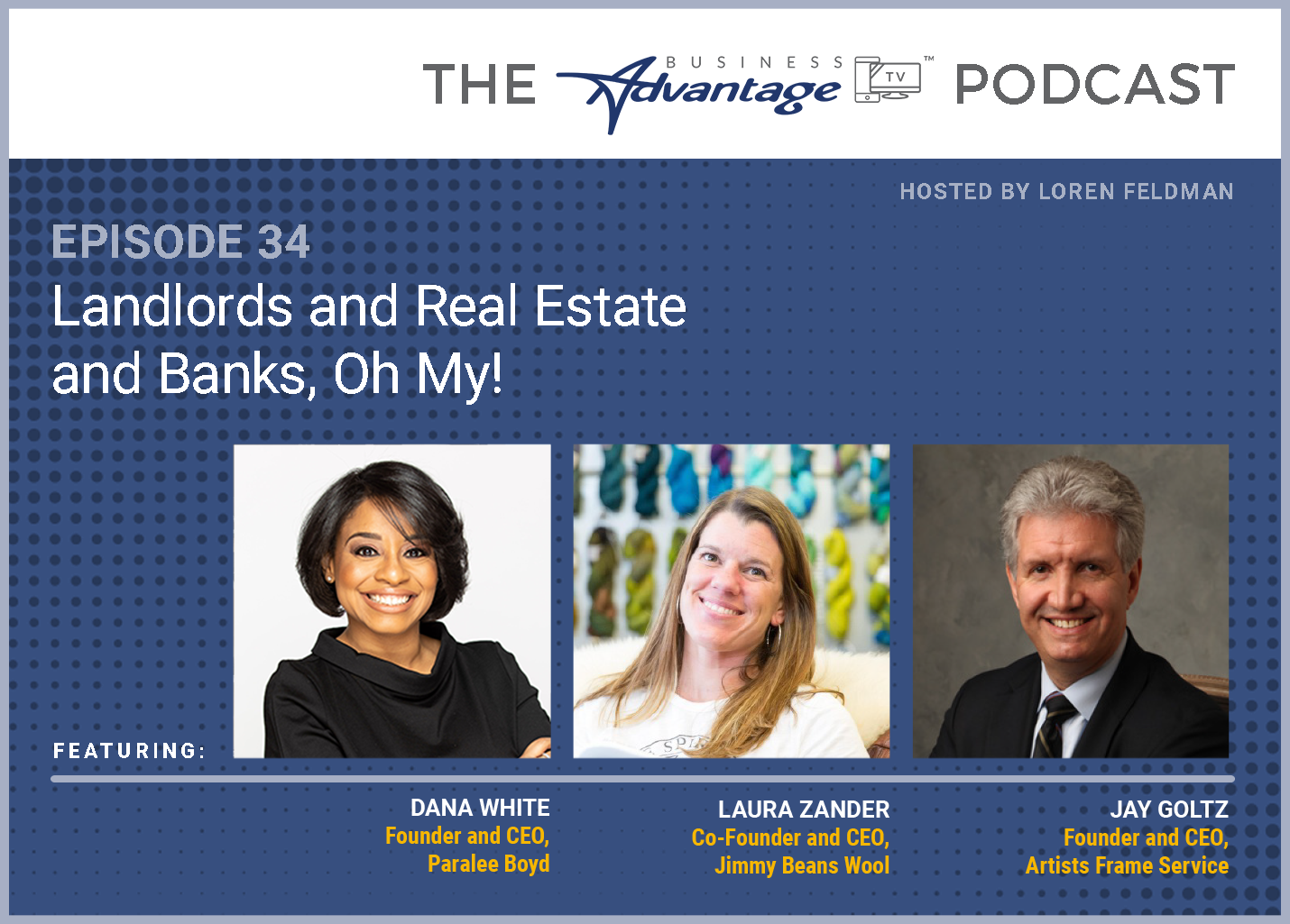 Episode 34: Landlords and Real Estate and Banks, Oh My!