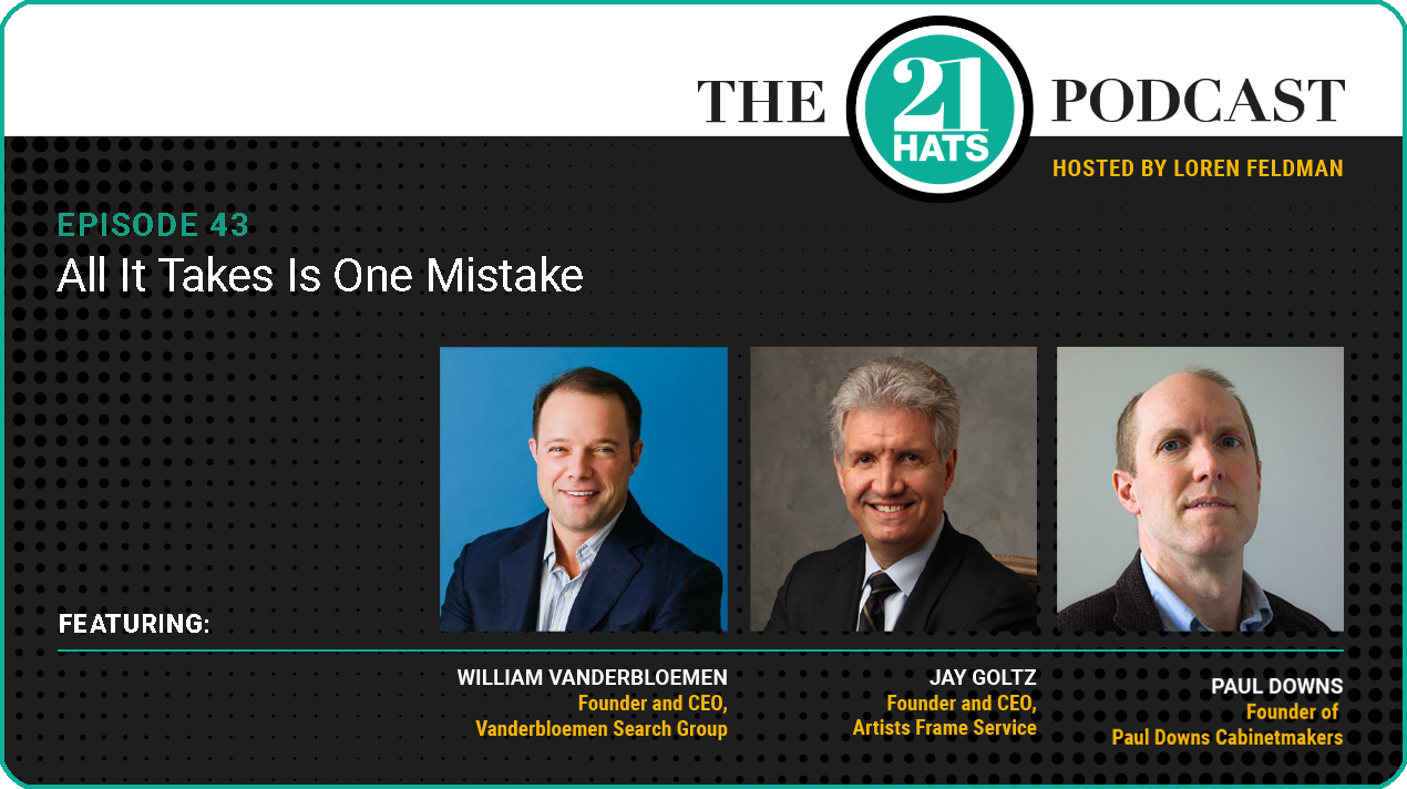 Episode 43: All It Takes Is One Mistake