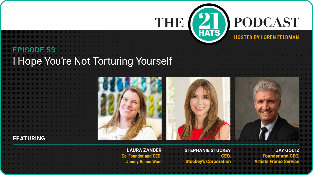 Episode 53: I Hope You're Not Torturing Yourself