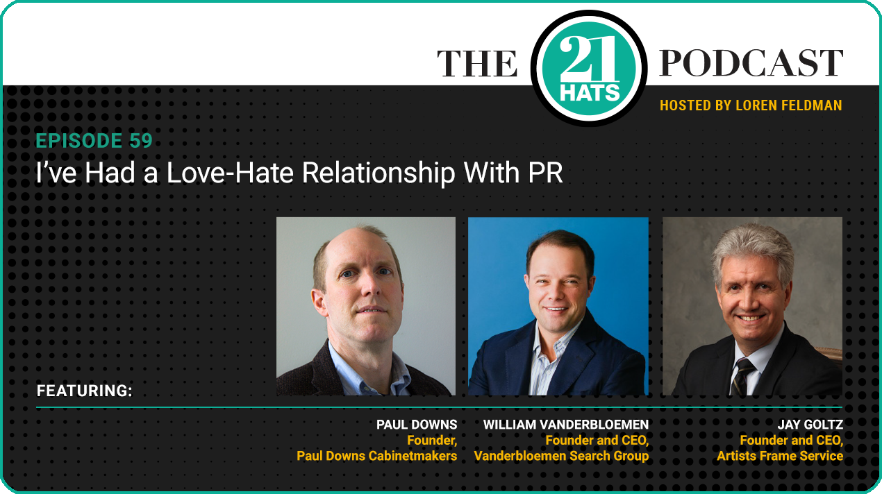 Episode 59: I've Had a Love-Hate Relationship With PR
