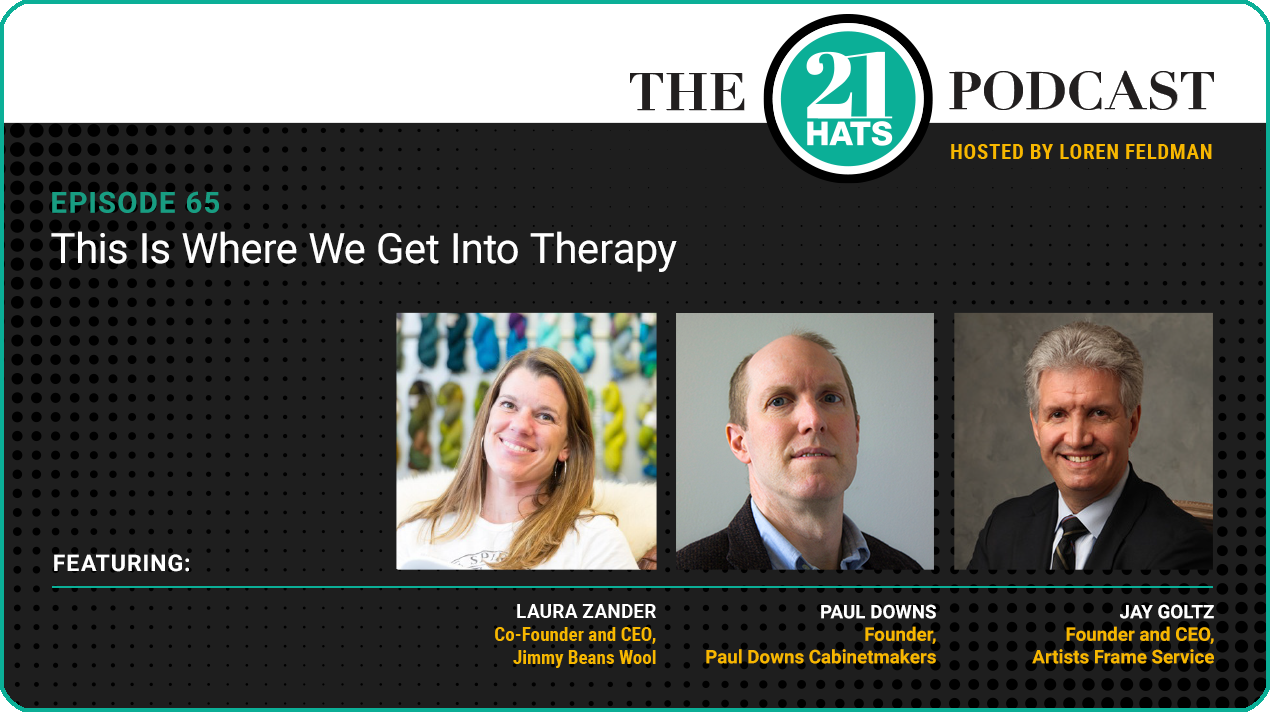Episode 65: This Is Where We Get Into Therapy