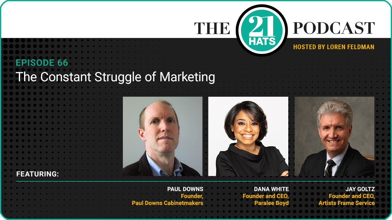 Episode 66: The Constant Struggle of Marketing