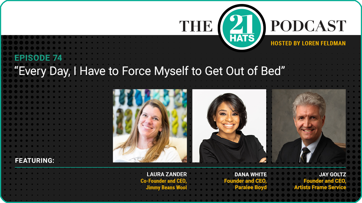 """Episode 74: Every Day, I Have to Force Myself to Get Out of Bed"""""""