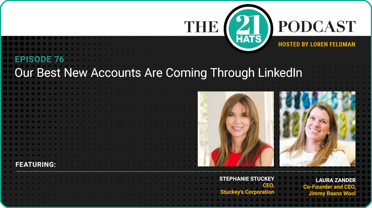 Our Best New Accounts Are Coming Through LinkedIn