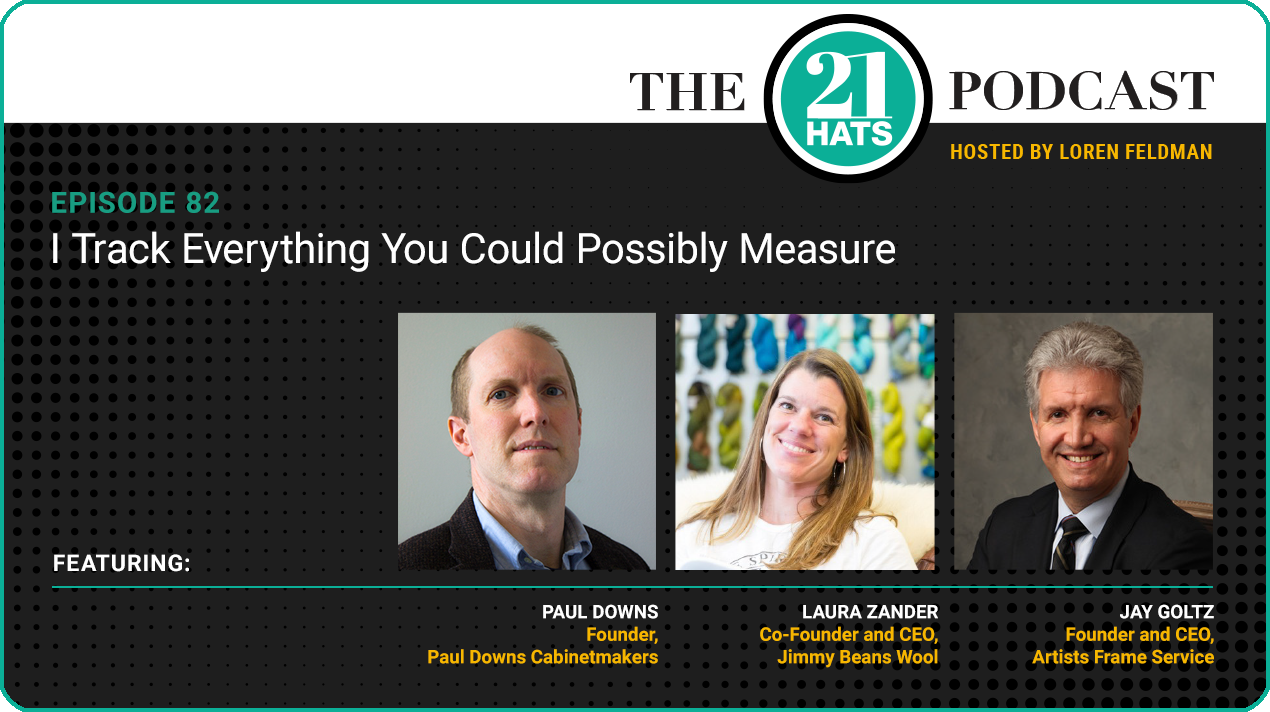 Episode 82: I Track Everything You Could Possibly Measure